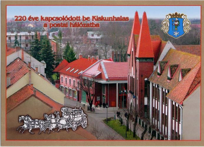 Kiskunhalas joined the postal network 220 years ago