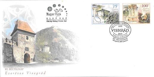 82rd day of stamps - Visegrád serie