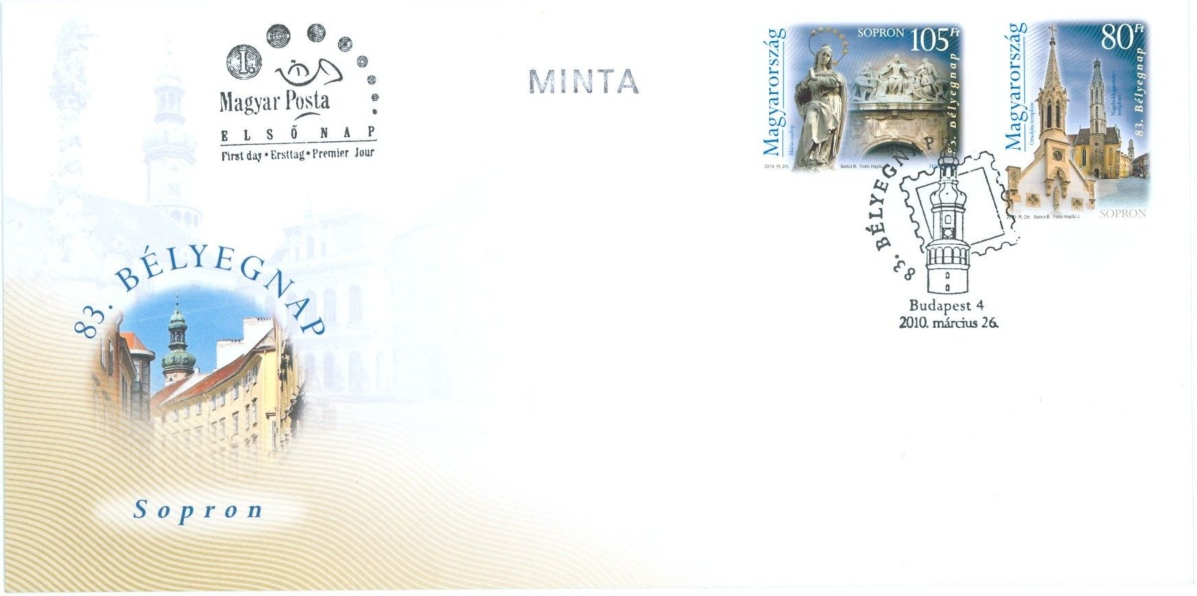 83rd day of stamps - Sopron serie