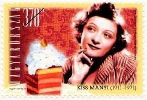 Hungarian performing artists I -Manyi Kiss