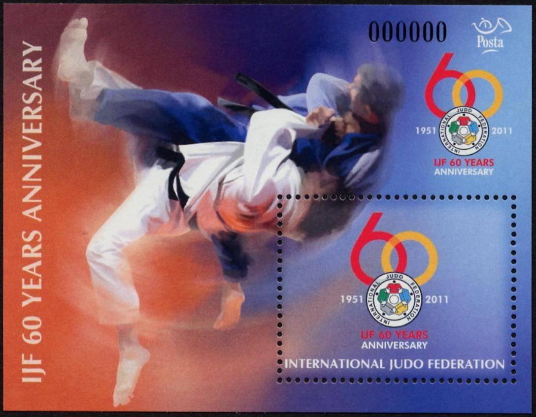 60 years anniversary - International Judo Federation I.
