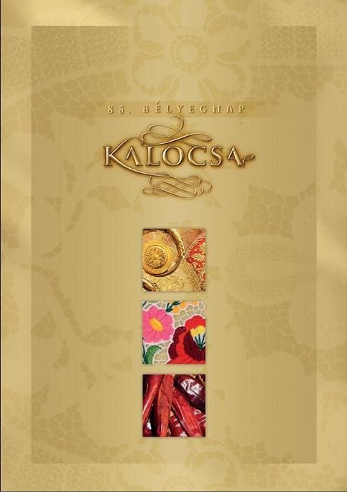 85th Stamp Day - Kalocsa collection