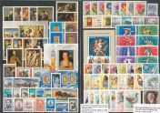 Collection of stamps 1968