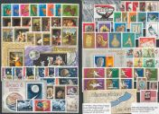 Collection of stamps 1969