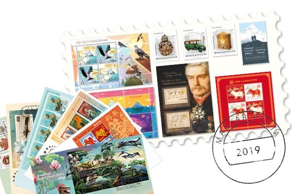 Special stamp 2019 + Special stamp 2018 FDC collection for half price