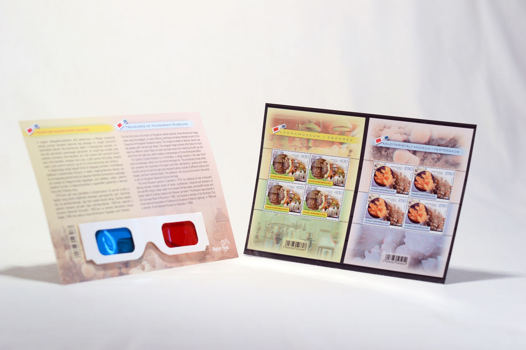 Three dimensional stamp set