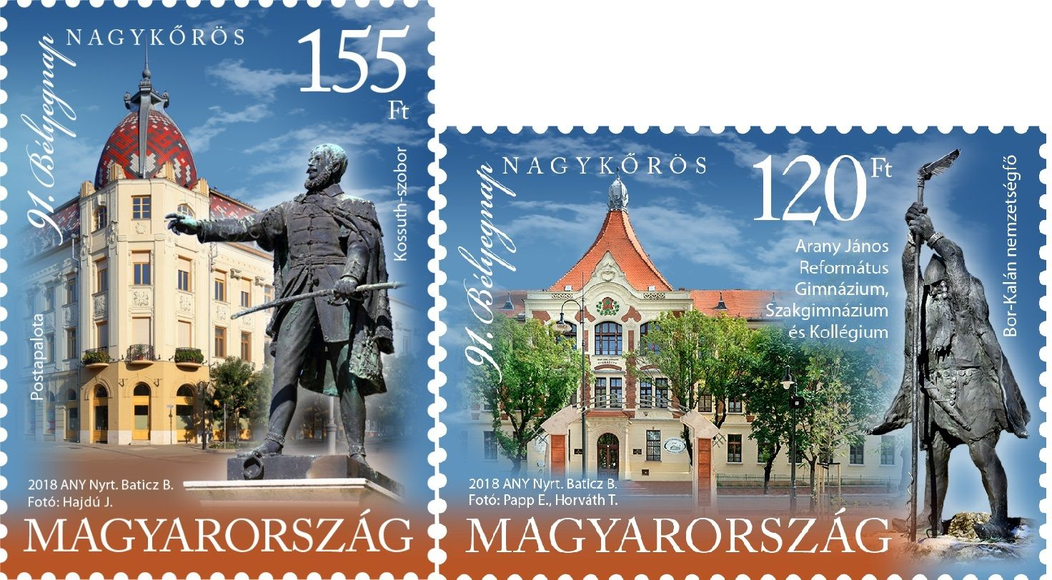 91st Stamp Day Nagykőrös set