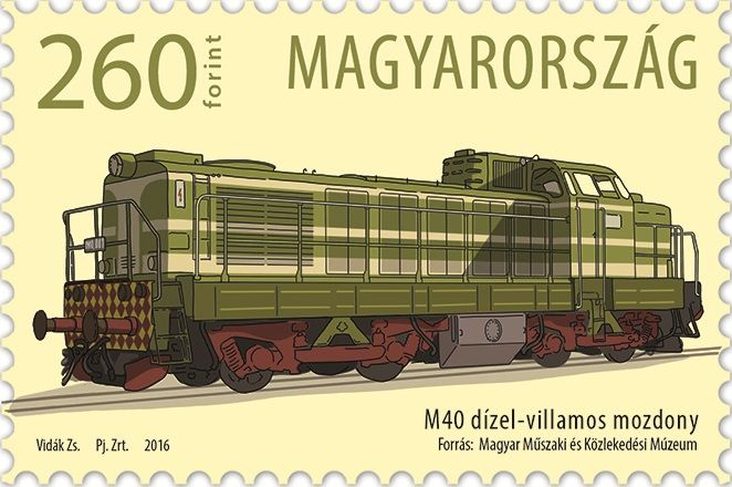 The First M40 Locomotive Entered Service In Hungary 50 Years Ago