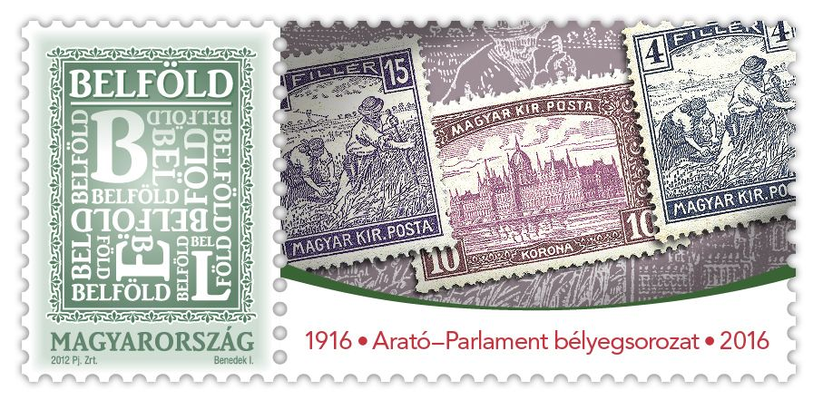 Harvester and Parliament Stamps Series is 100 Years Old