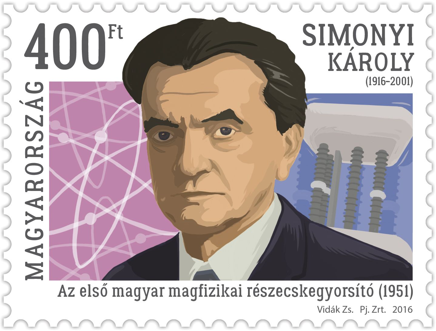 Károly Simonyi was born 100 years ago