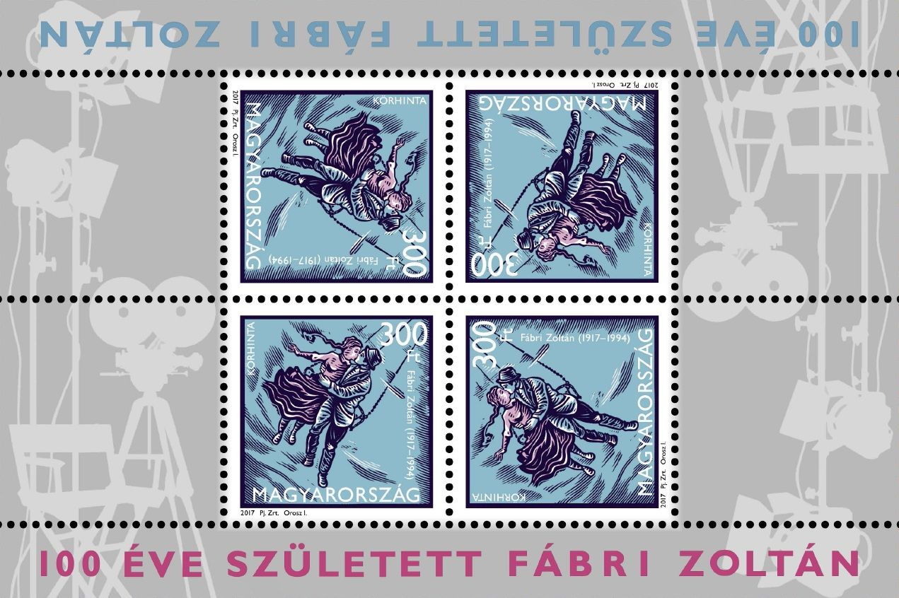 Zoltán Fábri was born 100 years ago (miniature sheet)