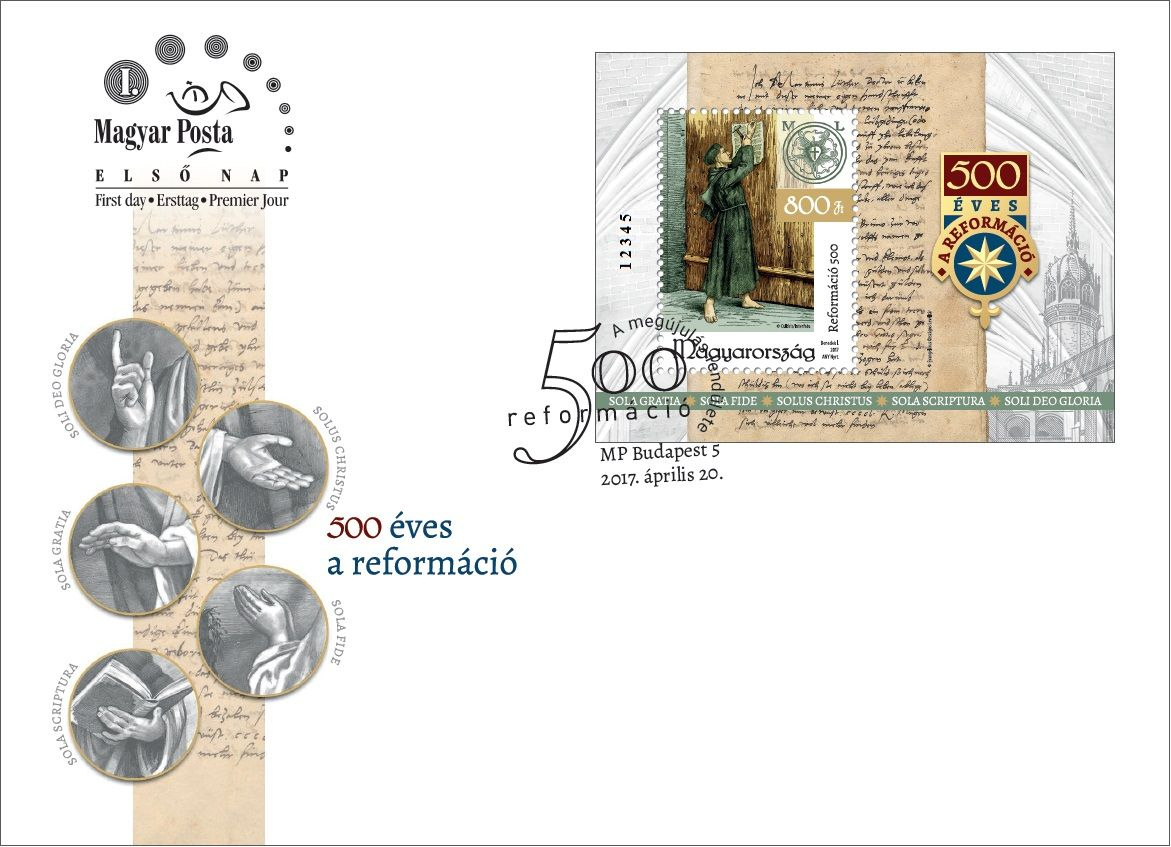 500 years of the reformation - block FDC