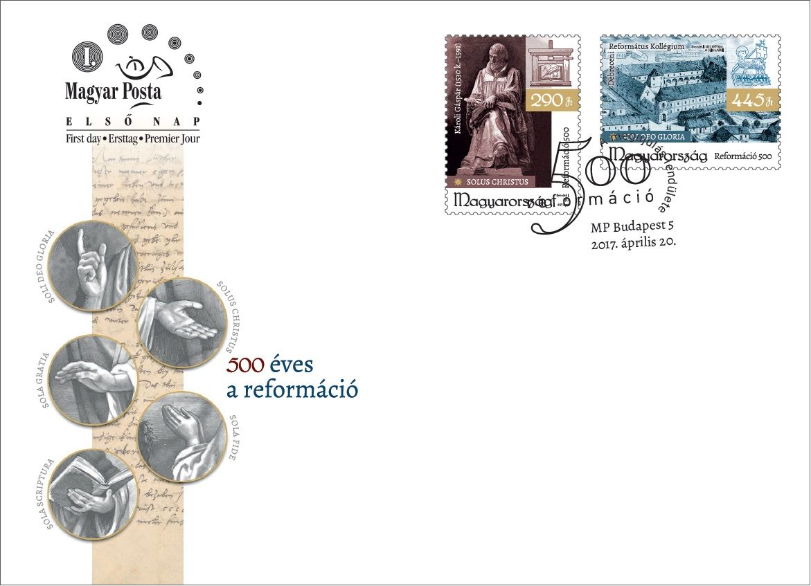 500 years of the reformation - set FDC