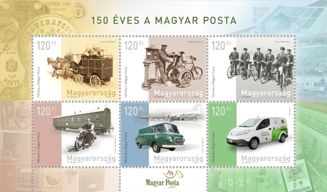 Magyar Posta is 150 years old