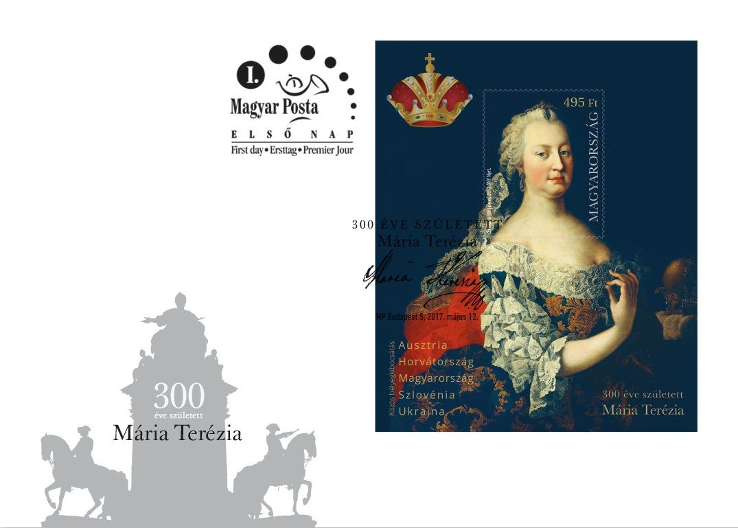 Maria Theresa was born 300 years ago - FDC