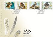 Fauna of Hungary: Owls - set FDC
