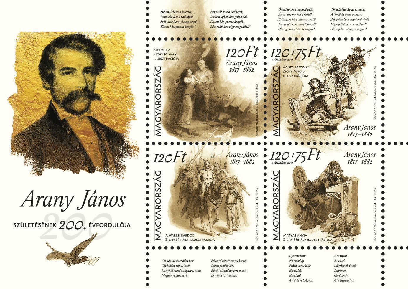 For youth 2017: János Arany was born 200 years ago