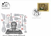 Claudio Monteverdi was born 450 years ago FDC