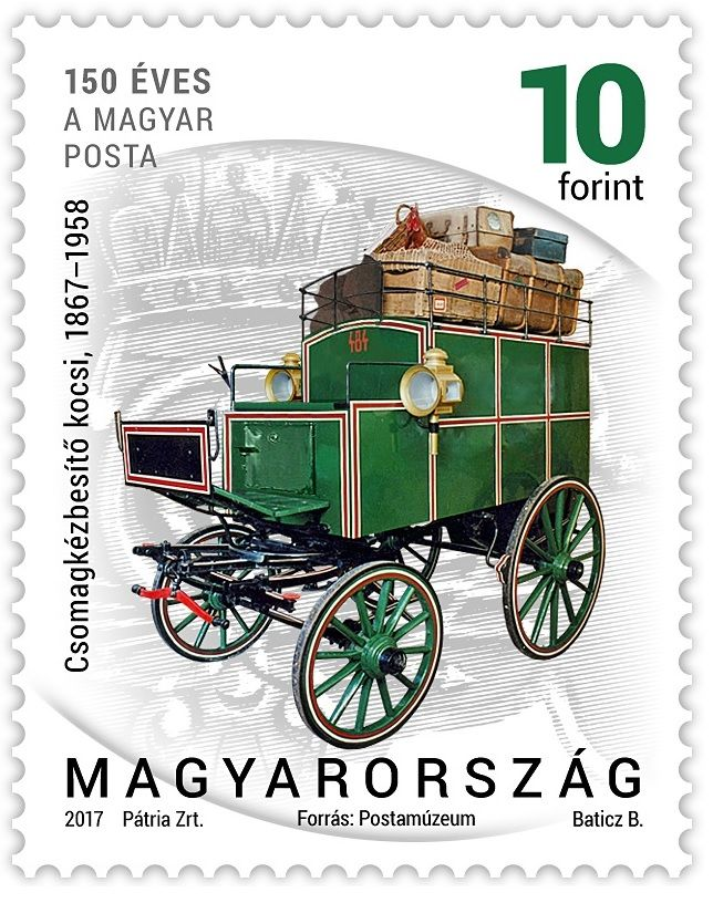 Postal history 2017 - definitive stamp series - 10 Ft