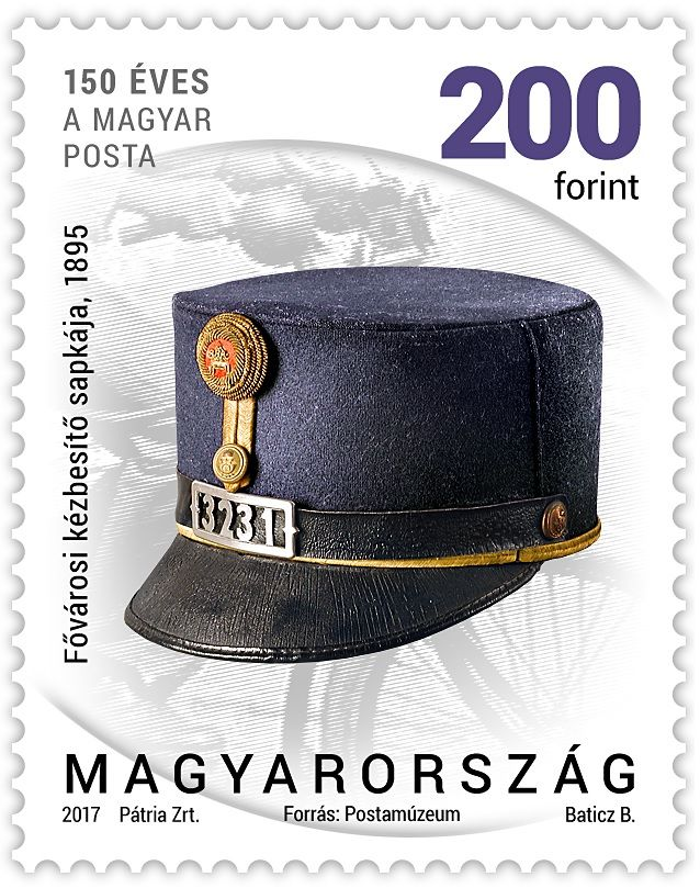 Postal history 2017 - definitive stamp series - 200 Ft