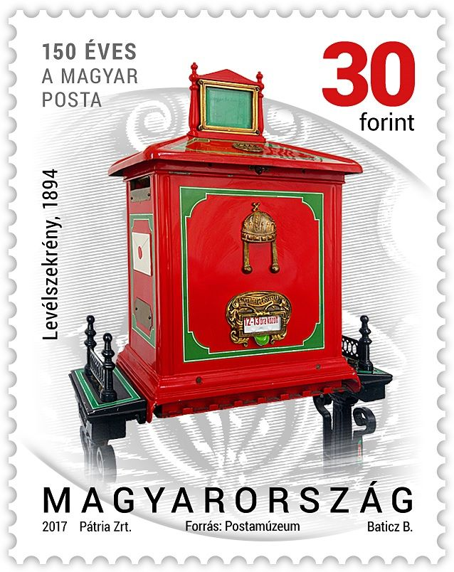 Postal history 2017 - definitive stamp series - 30 Ft