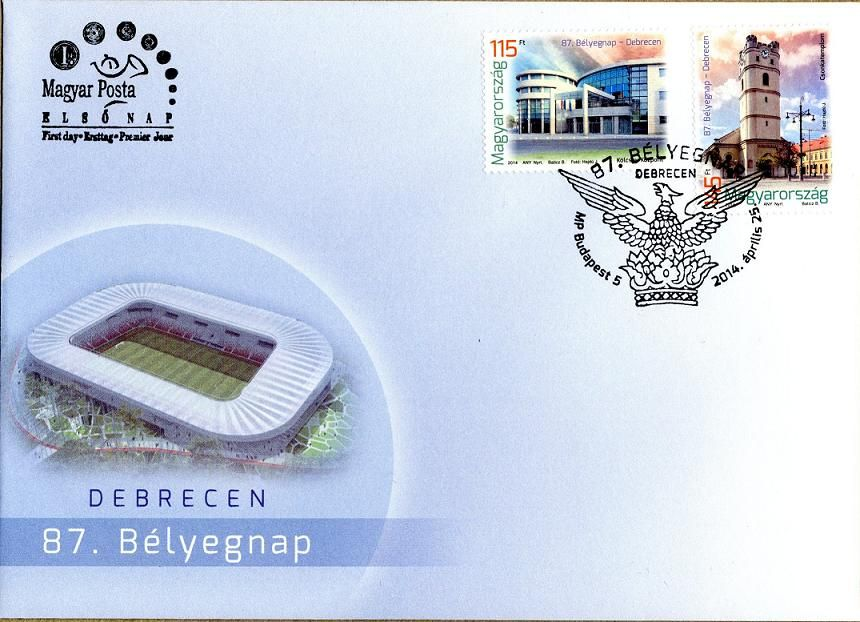 87th Stamp Day - Debrecen