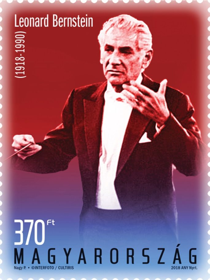 Leonard Bernstein was born 100 years ago