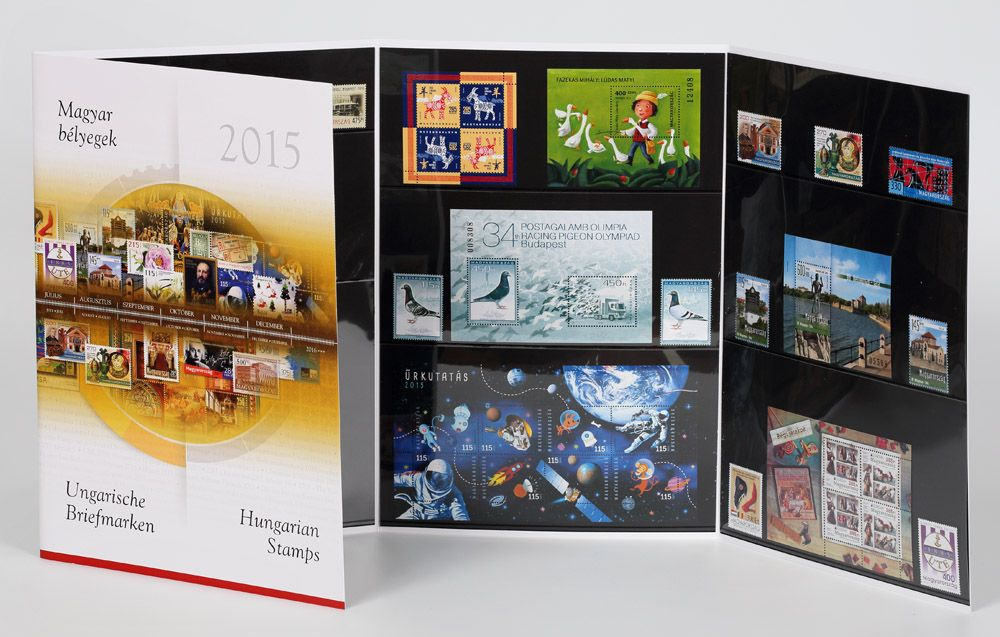 Hungarian Stamps 2015