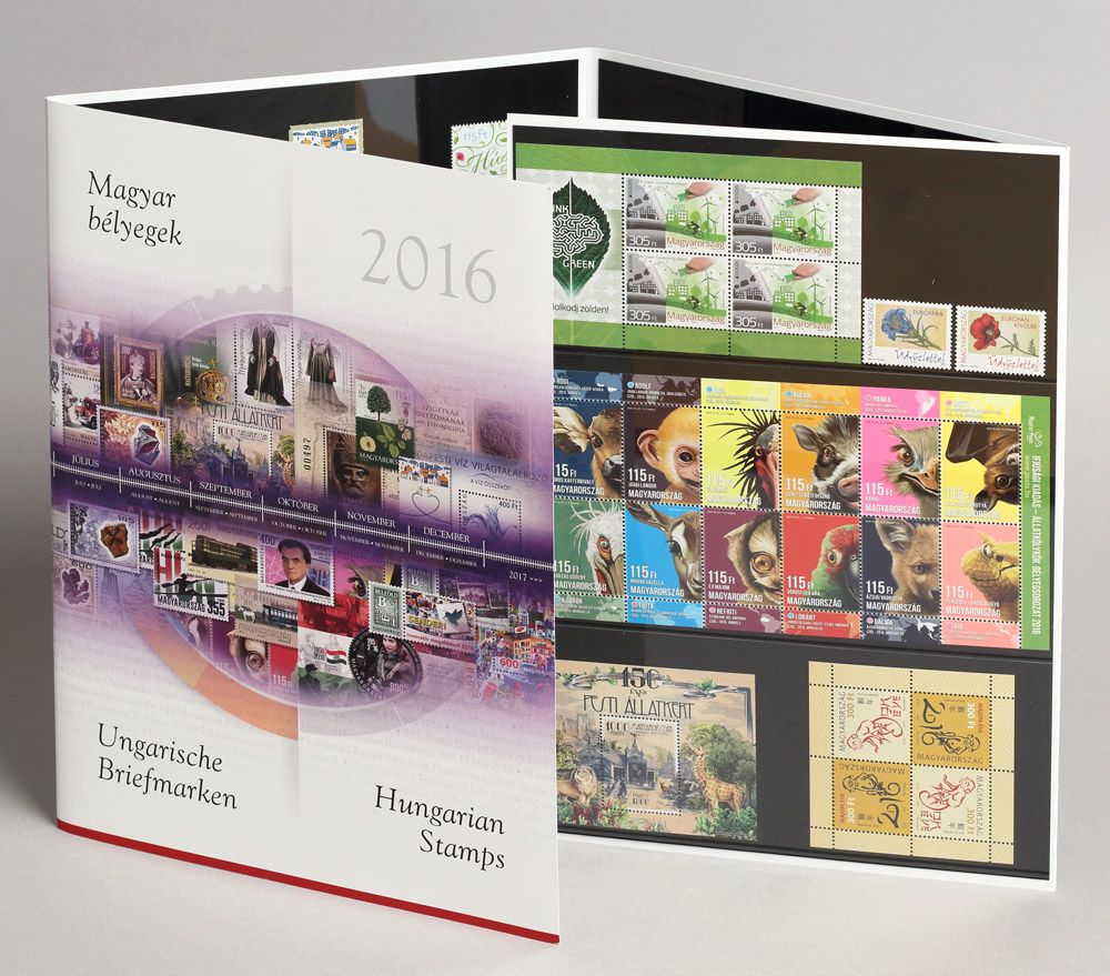 Hungarian Stamps 2016