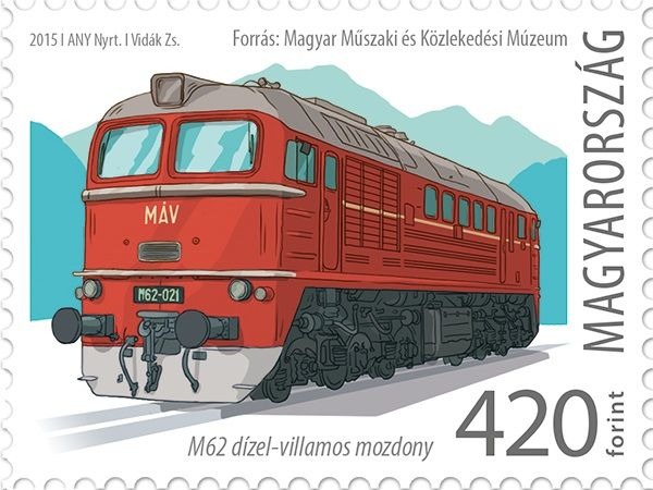 The first M62 locomotive entered service in Hungary 50 years ago
