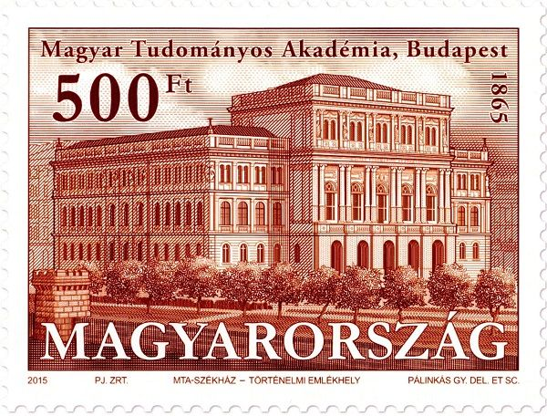 The headquarters of the Hungarian Academy of Siences is 150 years old
