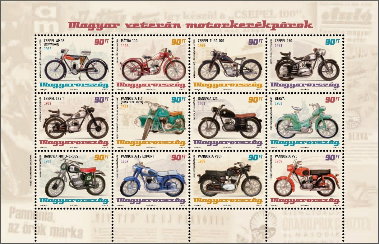 Hungarian old-timer motorcycles