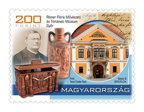 Treasures of hungarian museums III. - Rómer Flóris stamp