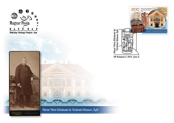 Treasures of hungarian museums III. - Rómer Flóris FDC