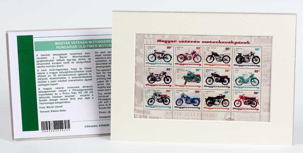 Hungarian old-timer motorcycles (Mat Board)