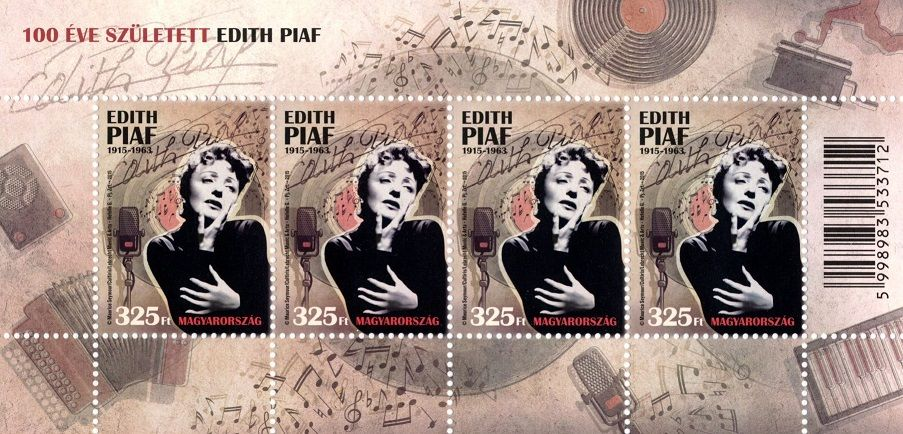 Edith Piaf was born 100 years ago