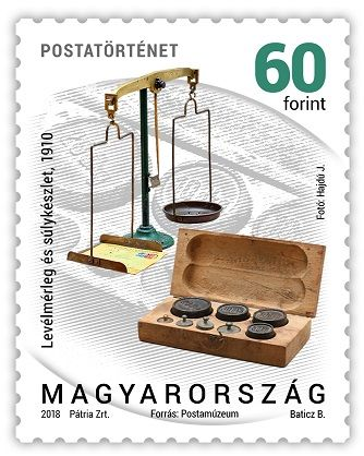 Postal history 2018 - definitive stamp series - 60 Ft