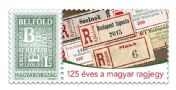 The Hungarian registered mail label is 125 year old