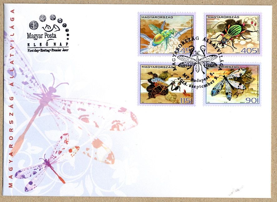 The fauna of Hungary - insects serie FDC