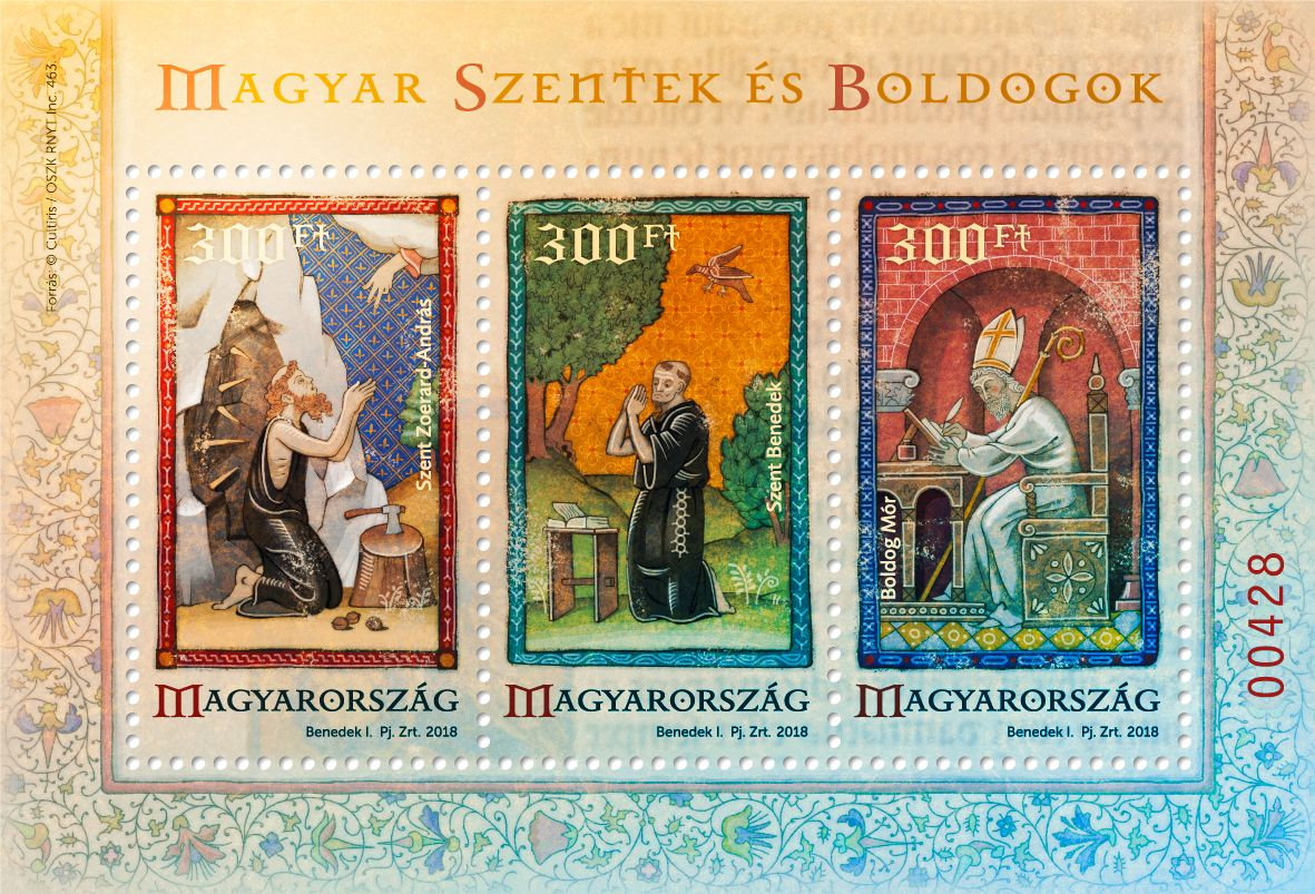 Hungarian saints and blesseds VI special souvenir sheet