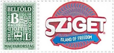 Your Own Message Stamp IV: Sziget 2015 (1 stamp)
