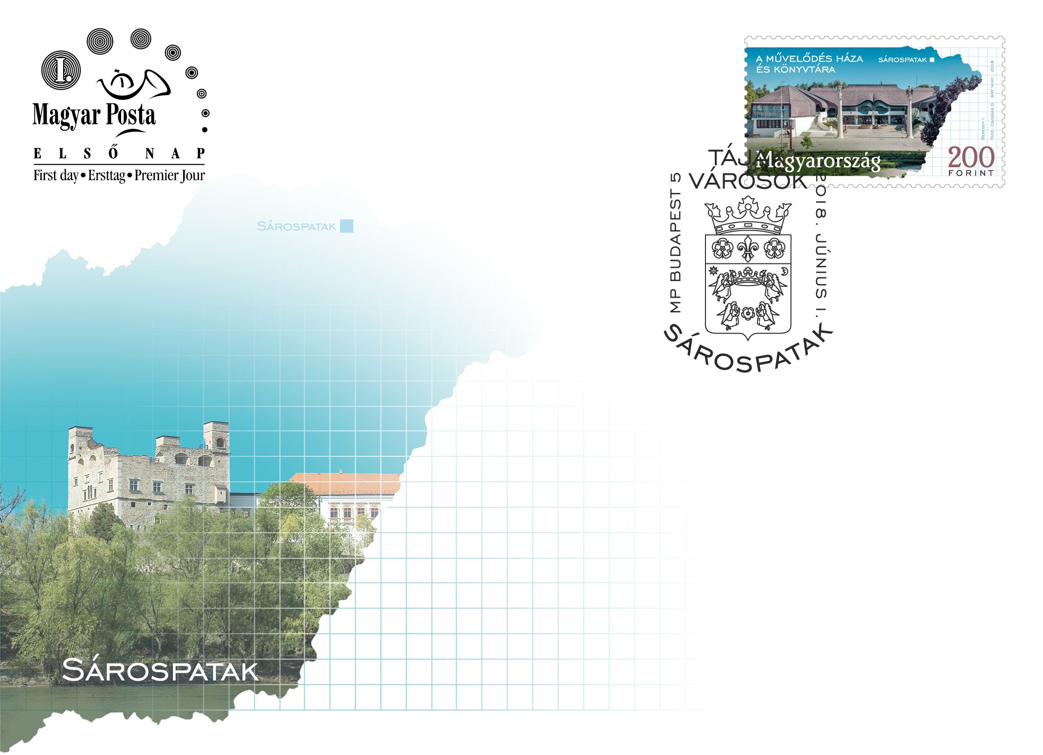 Regions and towns 2018 - Sárospatak FDC
