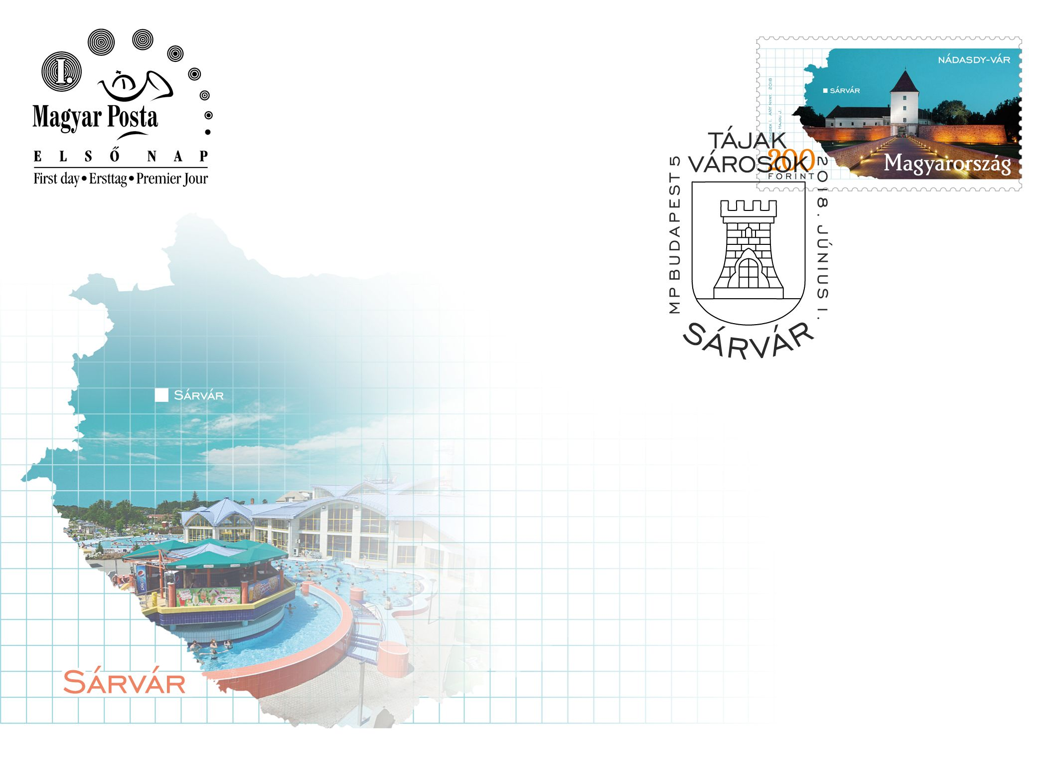 Regions and towns 2018 - Sárvár FDC