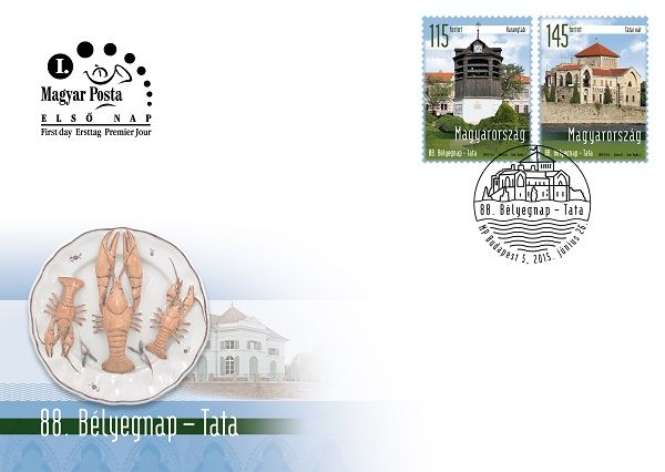 88th Stamp Day - Tata FDC