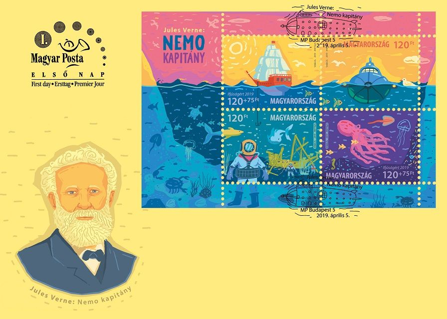 For Youth 2019 Jules Verne's Captain Nemo