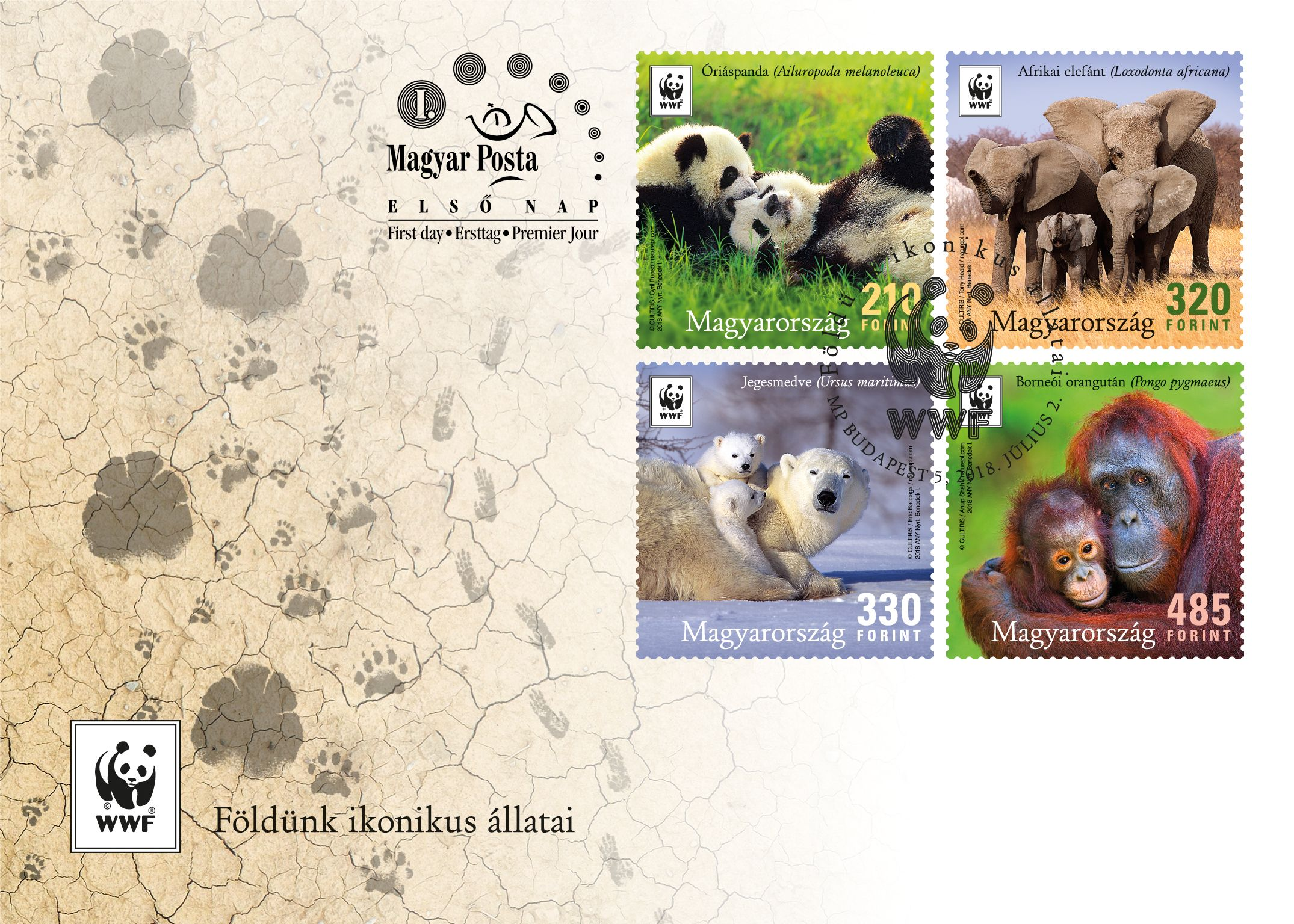 WWF Hungary: Earth's iconic animals