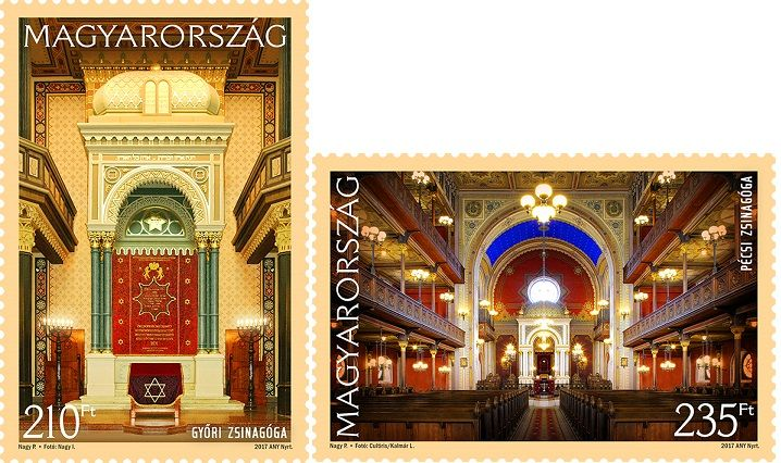 Synagogues of Hungary - Győr, Pécs