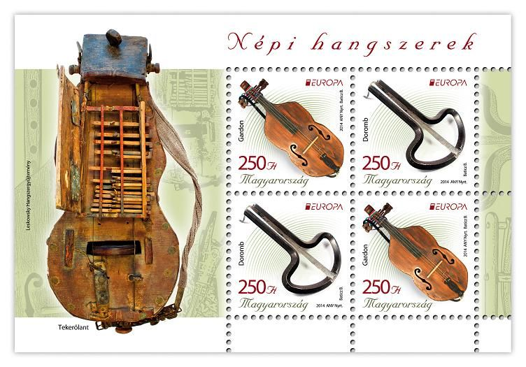 EUROPA 2014: National music instruments