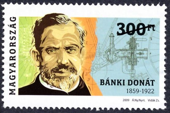Famous Hungarian Persons - Bánki Donát