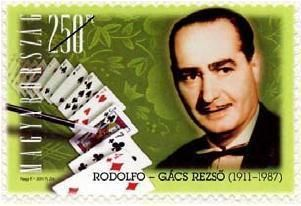 Hungarian performing artists I - Rezső Gács (Rodolfo)